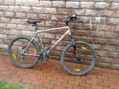 Продам велосипед Trek-2014 3500 Disc титановый-красный