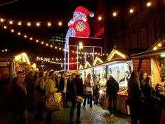 продавец на рождественнскую ярмарку. Берлин
