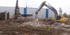 Работа по уборке строительного мусора в Берлине