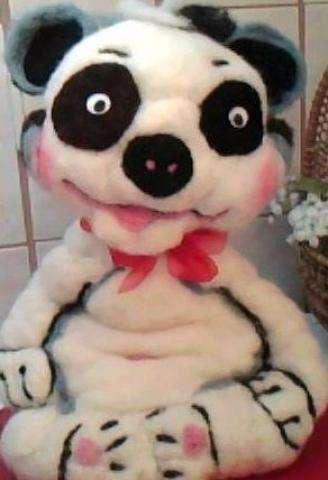 "Pandabär ""Bo"" ca. 33 cm groß – 35,00 € - 1/4"