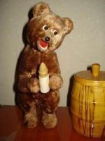 Коллекционный плюшевый Мишка из СССР