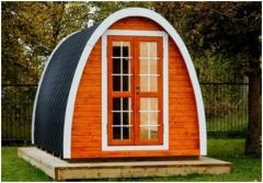 Предлагаем готовые модульные строения для отдыха на свежем воздухе – Кемпинг дом и Кемпинг баня